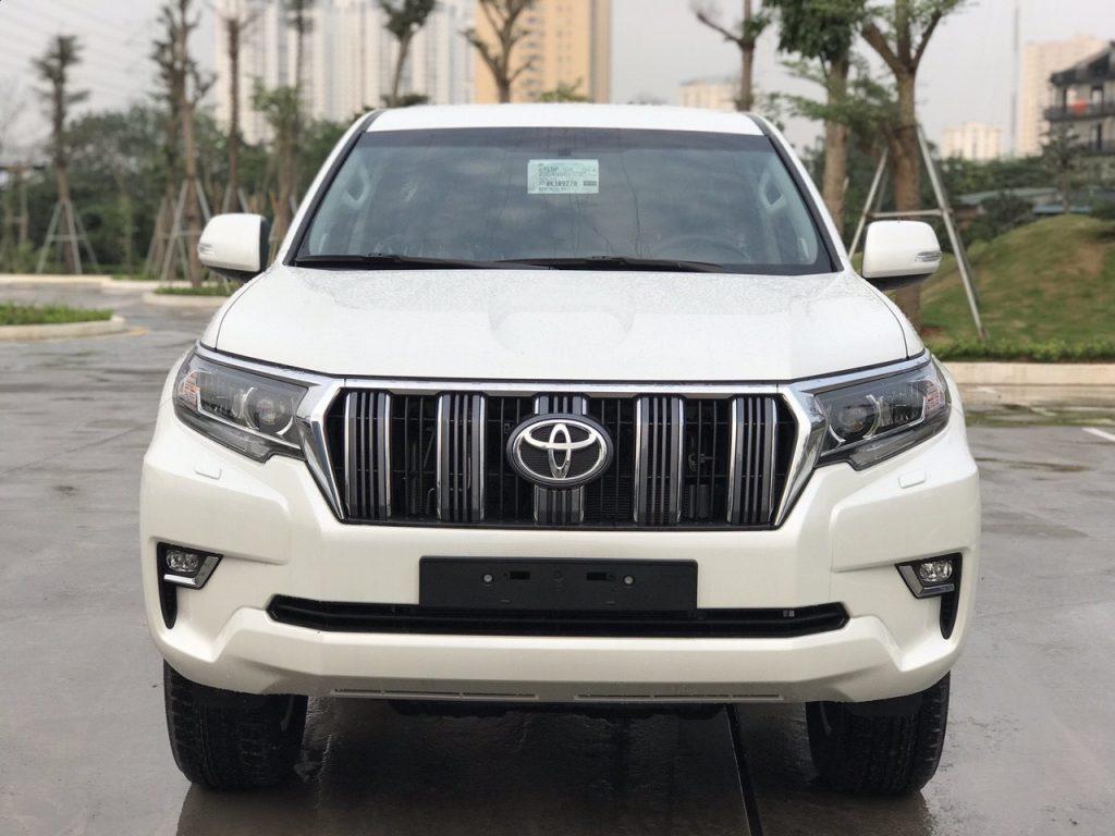 Toyota Land Prado 2019 - trắng 2