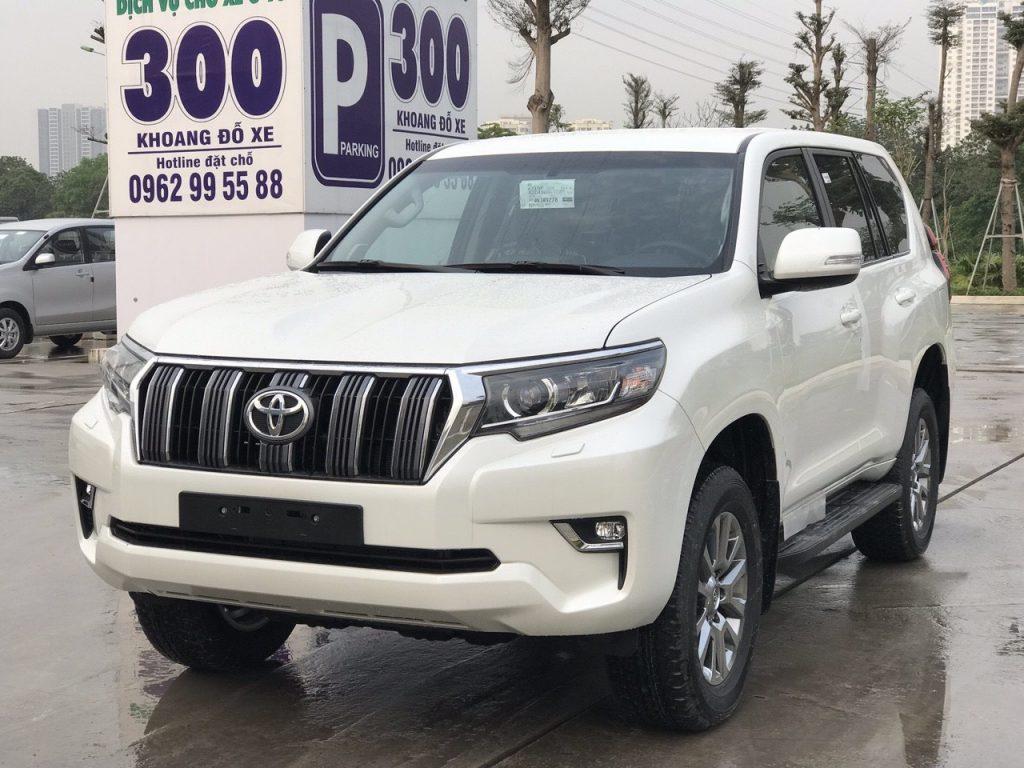 Giá xe Prado tại Toyota Bắc Ninh